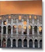 Colosseum. Rome Metal Print