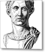 Constantine I (d. 337) Metal Print by Granger