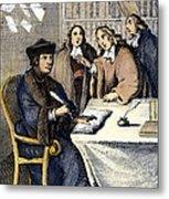 Desiderius Erasmus Metal Print