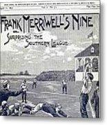 Dime Novel, 1897 Metal Print