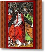 Drumul Crucii - Stations Of The Cross  Metal Print