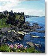 Dunluce Castle, Co Antrim, Ireland Metal Print