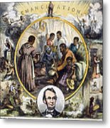 Emancipation Proclamation Metal Print