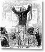 France: Revolution Of 1848 Metal Print