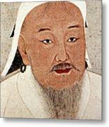 Genghis Khan (1162-1227) Metal Print