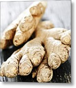 Ginger Root Metal Print