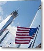 Ground Zero Freedom Tower Metal Print