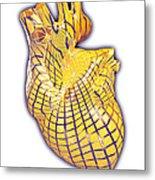 Human Heart, Artwork Metal Print
