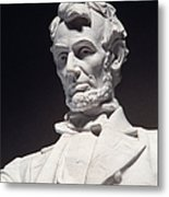 Lincoln Memorial: Statue Metal Print by Granger