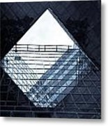 London Southbank Abstract Metal Print