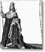 Louis Xv (1710-1774) Metal Print