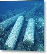 Marine Archaeology Metal Print