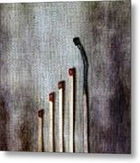 Matches Metal Print