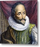 Miguel De Cervantes Metal Print