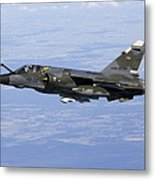 Mirage F1cr Of The French Air Force Metal Print