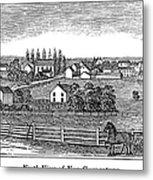 New Jersey, 1844 Metal Print