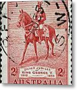 old Australian postage stamp Metal Print