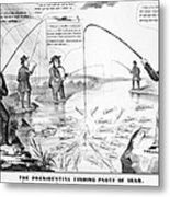 Presidential Campaign, 1848 Metal Print