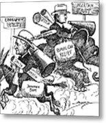 Presidential Campaign, 1928 Metal Print