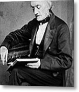 Richard Owen, English Paleontologist Metal Print by Science Source