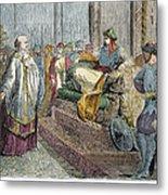 Saladin (1138-1193) Metal Print