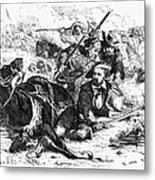 Sam Houston (1793-1863) Metal Print