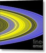 Saturns Rings Metal Print