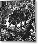 Shakespeare: Hamlet Metal Print