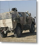 The German Army Atf Dingo Armored Metal Print