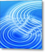 Water Ripples Metal Print by Pasieka