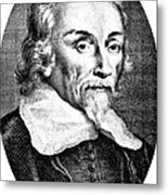William Harvey, English Physician Metal Print