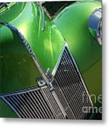 40 Ford - Grill Angle-8659 Metal Print