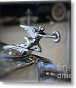 41 Packard Hood Ornament Metal Print
