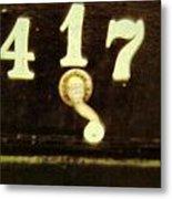 417 With A Twist Metal Print