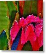 Protea Blossom Metal Print
