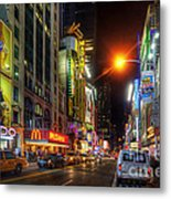 42nd Street Nyc 3.0 Metal Print