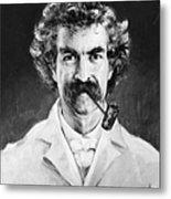 Samuel Langhorne Clemens Metal Print