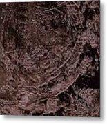 Sand Color Metal Print