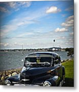 '47 Chevy By The Bay Metal Print