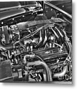 48 Chevy Block Metal Print