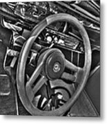 48 Chevy Convertible Interior Metal Print