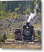 482 In Silverton Metal Print