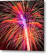 4th Of July - Independence Day Fireworks Metal Print