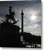 4th Plinth 3 Metal Print by Jez C Self