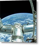 A Portion Of The International Space Metal Print