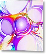Abstract Of Circle  Metal Print