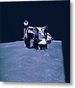 Apollo Mission 16 Metal Print