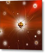 Atomic Structure, Artwork Metal Print