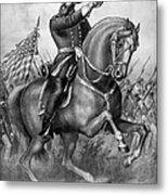 Benjamin Harrison Metal Print