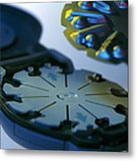 Blood Glucose Tester Metal Print by Steve Horrell